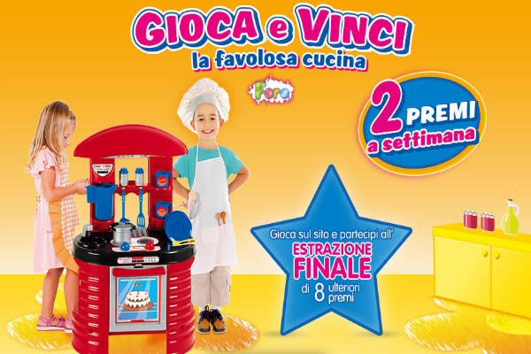 Concorso Pampers Cucina