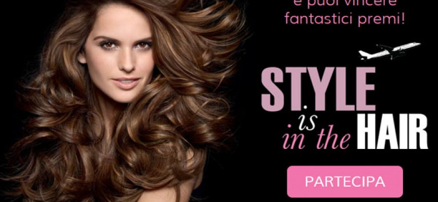 Style is in the hair: acquista Testanera e vola in vacanza
