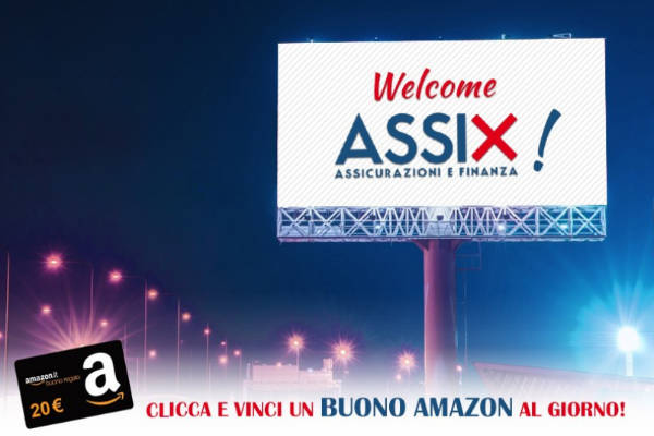 concorso Assix vinci Amazon