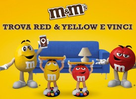 Gioca con M&M's e vinci i personaggi Red e Yellow
