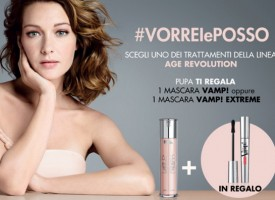 Con Pupa Age Revolution in regalo il Mascara Vamp!