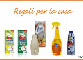 Regali per la casa: omaggio sicuro con Pronto, Mr Muscle, Duck Fresh e Glade