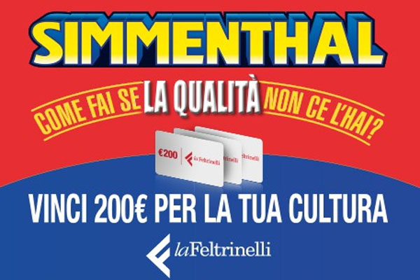simmenthal concorso feltrinelli