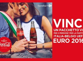 Coca-Cola e Carrefour ti portano agli Europei di calcio in Francia