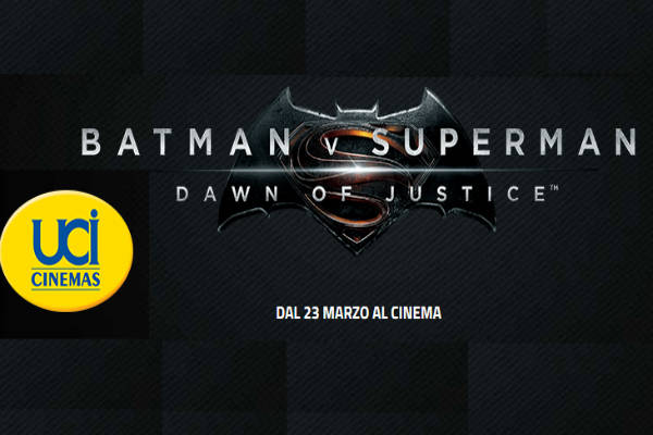 concorso UCI Batman Superman