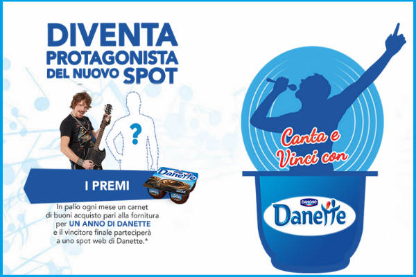 concorso Danette jingle