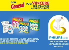 Acquista General e prova a vincere Philips Lumea
