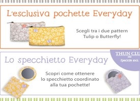 Thun ti regala la bellissima pochette Everyday