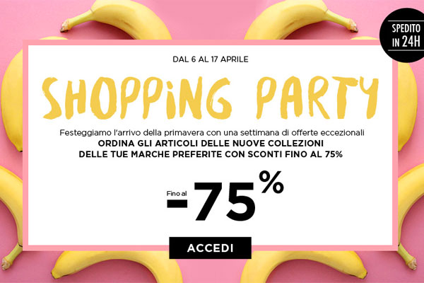 BrandAlley Saldi Shopping Party
