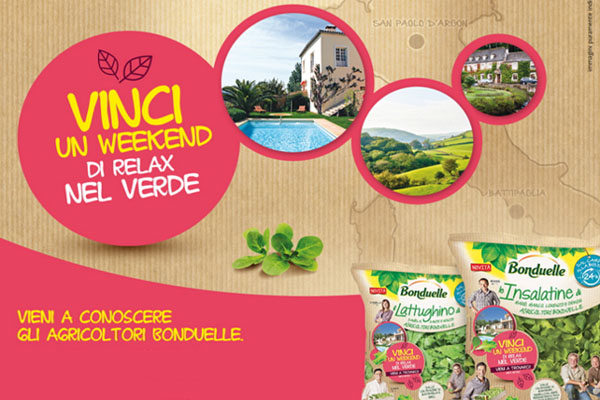 bonduelle concorso weekend