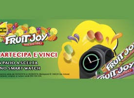 Prova le irresistibili Fruit Joy e vinci uno Smart Watch!