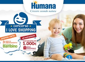 Humana ti regala 1.000 euro per fare shopping!