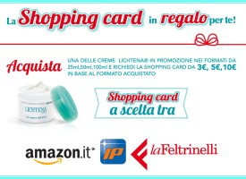 Lichtena ti regala una Shopping Card!
