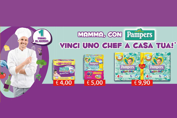 pampers concorso chef