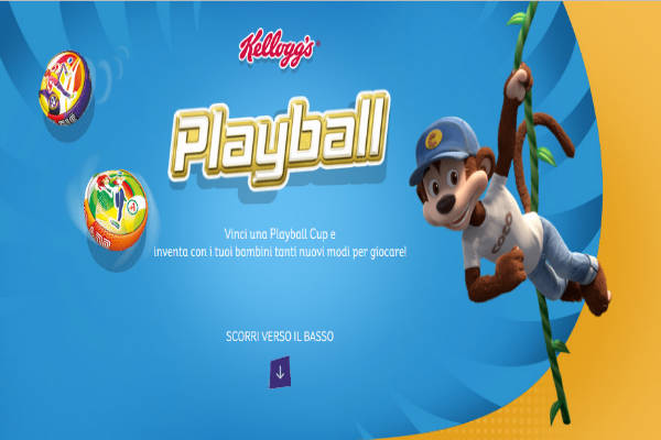 playball kellogg's