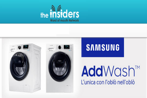 the insiders samsung lavatrice