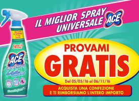 Prova GRATIS Ace Spray Universale!