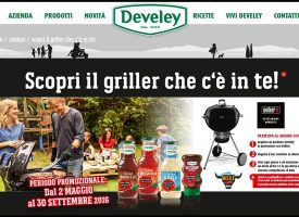 Vinci una fornitura di salse Develey e un barbecue Weber