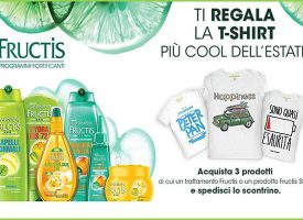 Fructis ti regala la t-shirt più cool dell'estate!