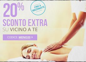 Groupon: -20% sui deal Vicino a Te