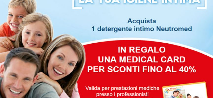 Neutromed ti regala la Medical Card