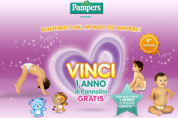 pampers concorso