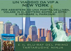 Guarda il trailer Tartarughe Ninja da Euronics e vola a New York