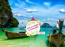 """Feel light"" con Tena e vinci un viaggio in Thailandia"