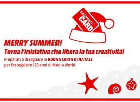 Disegna la nuova Gift Card di Natale Media World!