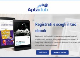 Entra in AptaClub in regalo un eBook per te