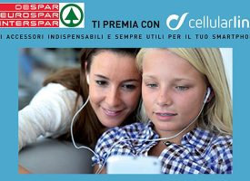 Despar ti premia con gli accessori CellularLine