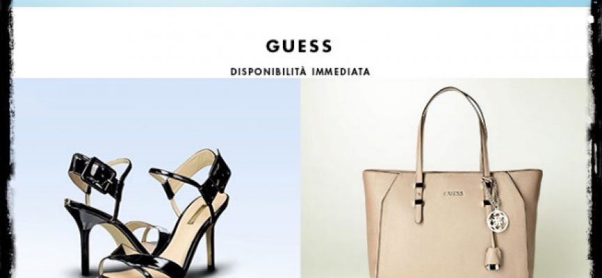 Guess in offerta su Amazon BuyVIP