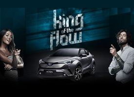 Vota il King of the Flow e vinci un Toyota C-HR