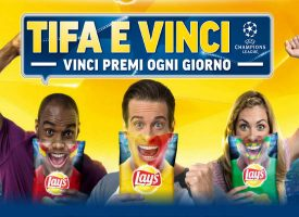 Vinci la UEFA Champions League con Lay's