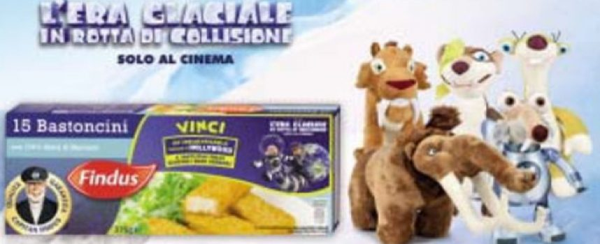 Esselunga e Findus ti regalano i peluche dell'Era Glaciale