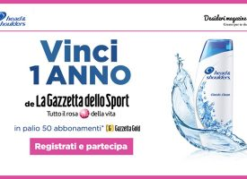 Con Head & Shoulders vinci un anno di sport