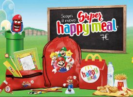 Mc Donald's ti regala il kit scuola di Super Mario Bross