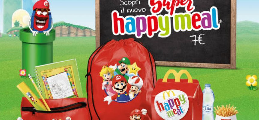 kit super mario mc donald