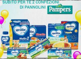 Ricevi in regalo i pannolini Pampers con MyMellinShop