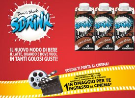 Sdrink Granarolo ti regala un ingresso al cinema