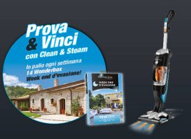 Scopri Rowenta Clean&Stream e vinci un week-end per due