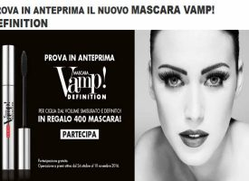 Vinci un mascara Vamp! Definition con Pupa4fan