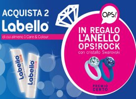 Labello ti regala l'anello Ops!Rock