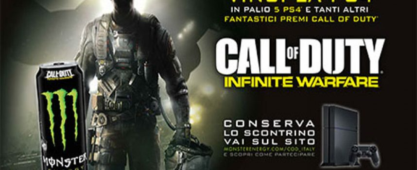 Con Monster vinci Call of Duty e una PS4