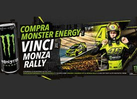 "Vinci una ""Monza Rally Experience"" con Monster Energy"