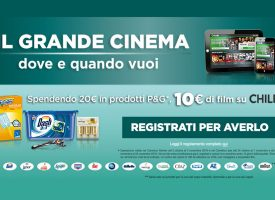 P&G e Carrefour ti regalano il grande cinema su Chili