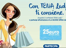 Acquista Tena Lady e vinci una card da 25 euro
