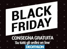 Decathlon ti regala la consegna gratuita per il Black Friday