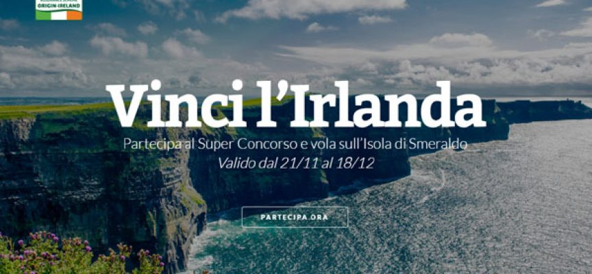 Vinci un weekend in Irlanda con Coop e Black Angus