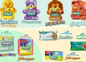 Vinci il Trolley Cavalcabile con Pampers